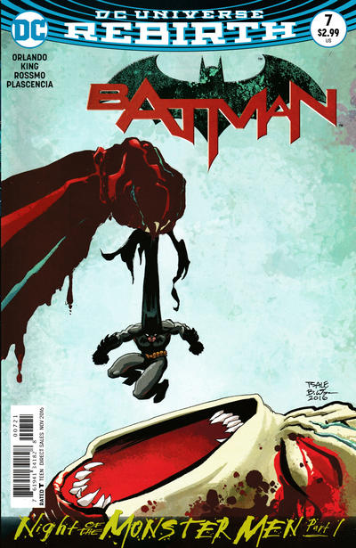 Cover for Batman (DC, 2016 series) #7