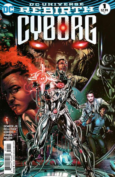 Cover for Cyborg (DC, 2016 series) #1 [Will Conrad Cover]