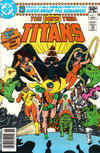Cover for The New Teen Titans (DC, 1980 series) #1 [Newsstand]