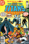Cover for The New Teen Titans (DC, 1980 series) #2 [Newsstand]