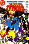 Cover for The New Teen Titans (DC, 1980 series) #4 [Direct]