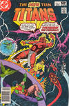 Cover for The New Teen Titans (DC, 1980 series) #6 [Newsstand]