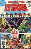 Cover for The New Teen Titans (DC, 1980 series) #8 [Direct]
