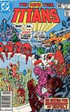 Cover for The New Teen Titans (DC, 1980 series) #15 [Newsstand]