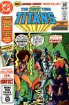 Cover for The New Teen Titans (DC, 1980 series) #16 [Direct]
