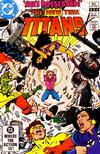 Cover for The New Teen Titans (DC, 1980 series) #17 [Direct]