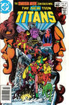 Cover for The New Teen Titans (DC, 1980 series) #24 [Newsstand]