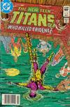 Cover Thumbnail for The New Teen Titans (1980 series) #33 [Newsstand]