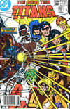 Cover Thumbnail for The New Teen Titans (1980 series) #34 [Newsstand]