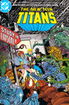 Cover for The New Teen Titans (DC, 1984 series) #10
