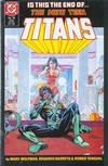 Cover for The New Teen Titans (DC, 1984 series) #19