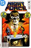 Cover for The Night Force (DC, 1982 series) #1 [Newsstand]