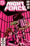 Cover for The Night Force (DC, 1982 series) #4 [Direct Sales]