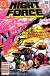 Cover for The Night Force (DC, 1982 series) #7 [Newsstand]