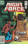 Cover for The Night Force (DC, 1982 series) #8 [Newsstand]