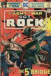 Cover for Our Army at War (DC, 1952 series) #287