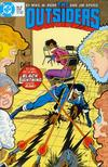 Cover for The Outsiders (DC, 1985 series) #9