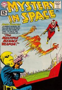 Cover Thumbnail for Mystery in Space (DC, 1951 series) #72