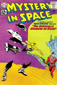 Cover Thumbnail for Mystery in Space (DC, 1951 series) #73
