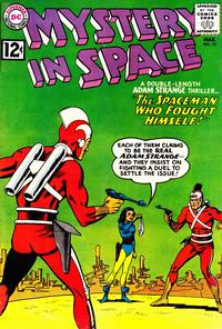 Cover Thumbnail for Mystery in Space (DC, 1951 series) #74