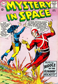 Cover Thumbnail for Mystery in Space (DC, 1951 series) #85