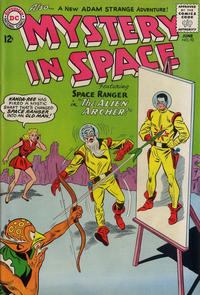 Cover Thumbnail for Mystery in Space (DC, 1951 series) #92
