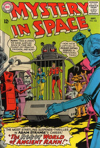 Cover Thumbnail for Mystery in Space (DC, 1951 series) #102