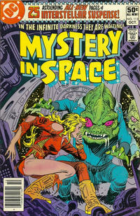 Cover Thumbnail for Mystery in Space (DC, 1951 series) #112 [Newsstand]