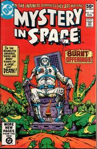 Cover Thumbnail for Mystery in Space (DC, 1951 series) #116 [Direct]