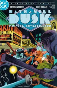 Cover for Nathaniel Dusk (DC, 1984 series) #3