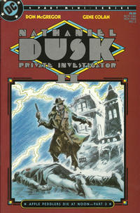 Cover Thumbnail for Nathaniel Dusk II (DC, 1985 series) #3