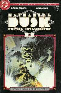 Cover for Nathaniel Dusk II (DC, 1985 series) #4