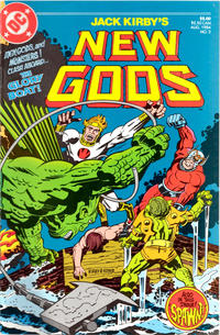 Cover Thumbnail for New Gods (DC, 1984 series) #3