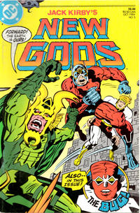 Cover Thumbnail for New Gods (DC, 1984 series) #5