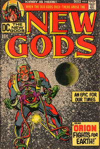 Cover Thumbnail for The New Gods (DC, 1971 series) #1