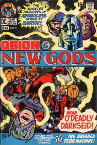 Cover Thumbnail for The New Gods (DC, 1971 series) #2