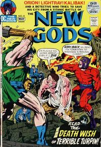 Cover Thumbnail for The New Gods (DC, 1971 series) #8