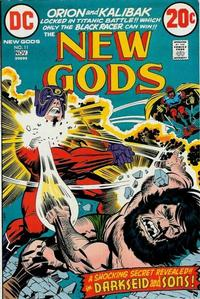 Cover Thumbnail for The New Gods (DC, 1971 series) #11