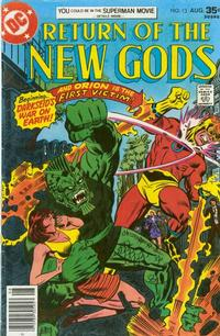 Cover Thumbnail for The New Gods (DC, 1971 series) #13