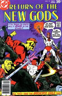 Cover Thumbnail for The New Gods (DC, 1971 series) #15