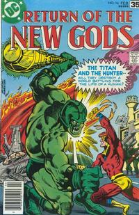 Cover Thumbnail for The New Gods (DC, 1971 series) #16