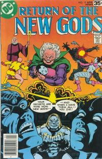 Cover Thumbnail for The New Gods (DC, 1971 series) #17