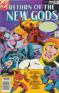 Cover Thumbnail for The New Gods (DC, 1971 series) #19