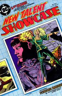 Cover Thumbnail for New Talent Showcase (DC, 1984 series) #1