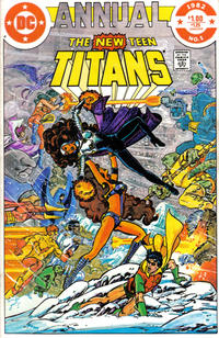 Cover Thumbnail for The New Teen Titans Annual (DC, 1982 series) #1 [Direct]