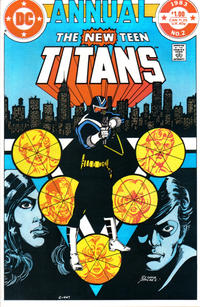 Cover Thumbnail for The New Teen Titans Annual (DC, 1982 series) #2 [Direct]