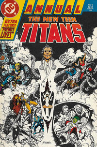 Cover Thumbnail for The New Teen Titans Annual (DC, 1985 series) #4