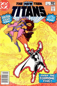 Cover Thumbnail for The New Teen Titans (DC, 1980 series) #3 [Newsstand]