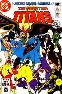 Cover Thumbnail for The New Teen Titans (DC, 1980 series) #4 [Direct]