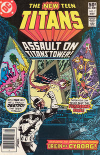 Cover Thumbnail for The New Teen Titans (DC, 1980 series) #7 [Newsstand]